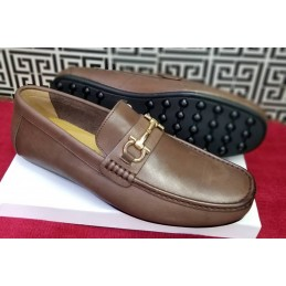 Fer ragamo horsebit loafers