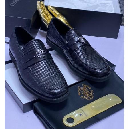 Zara Black Double Monk Strap Sneakers