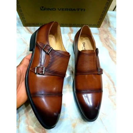 Dino Verratti Double monk Strap
