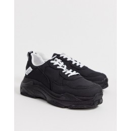 BoohooMAN suede chunky trainer