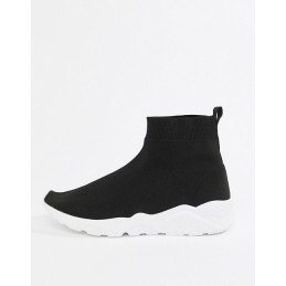 Ankle Sock Trainer in Black