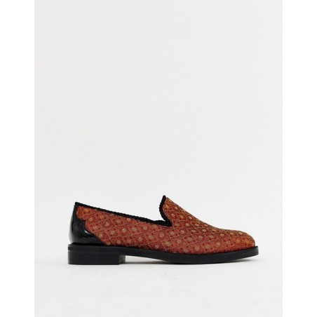 House Of Hounds loafers in orange