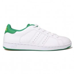 Mens Leather Trainers -...