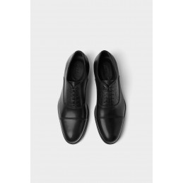 SMART LEATHER SHOES - black