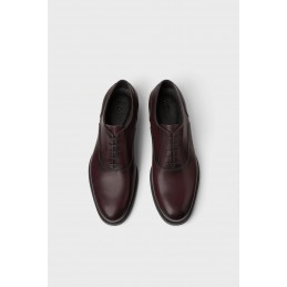 ZARA SMART BURGUNDY LEATHER...