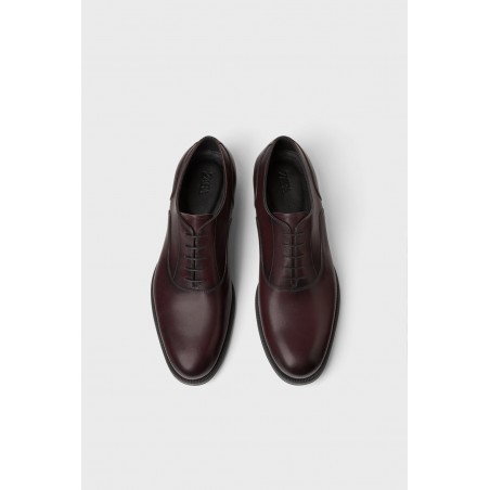 SMART BURGUNDY LEATHER SHOES