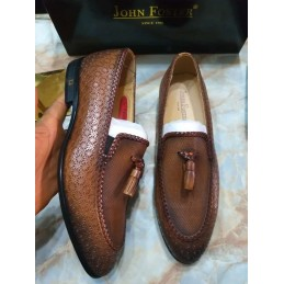 John Foster tassel - brown