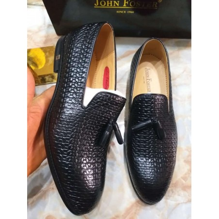 John Foster Woven style loafers
