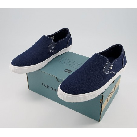 Toms Navy Canvas