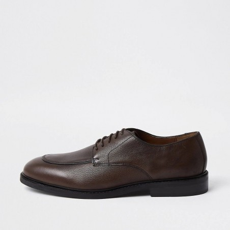 River Island Brown leather shoe