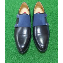 Rossi double monk Strap