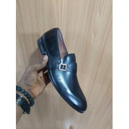 Anax side strap loafers