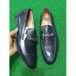 Anax loafers - gold horsebit