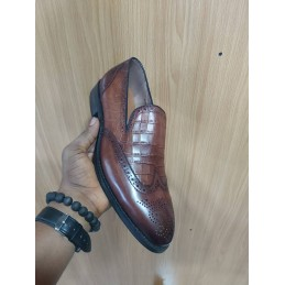 Anax brogue loafers