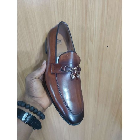 Anax brown loafer - bell