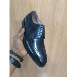 Anax black oxford shoe
