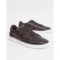 ALDO trainers in brown