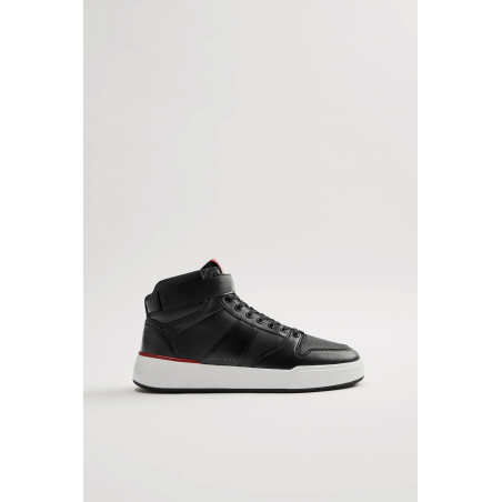 Zara high-top sneakers